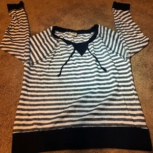 Andrea Jovine stripped Blue & White sweater